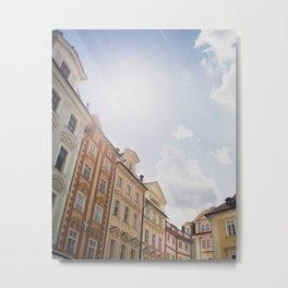 Old Town Square, Prague Metal Print