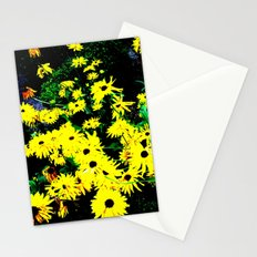 Yellow Flowers (Edited)  Stationery Cards