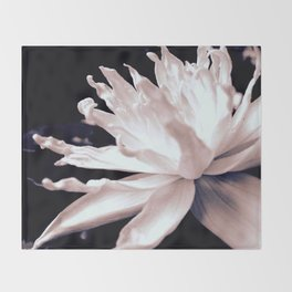 Hopeful Water Lilly Throw Blanket