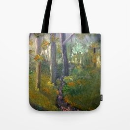 Forest in Oils Tote Bag