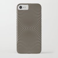 tree rings iPhone & iPod Cases featuring Tree Rings by Morgan Bajardi