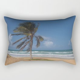 Karon Beach palm tree Rectangular Pillow