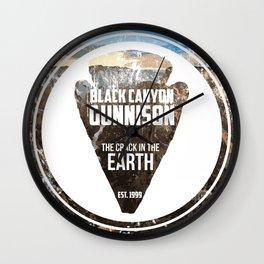 Black Canyon Gunnison Wall Clock