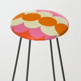 Gradual Sixties Counter Stool