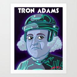 Tron Adams Art Print