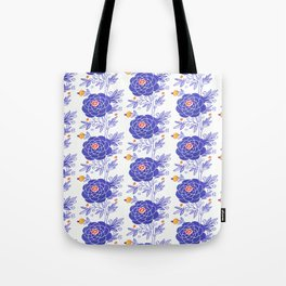 Zinnia Party Tote Bag