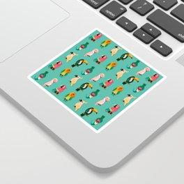 Tropical Tweet Sticker