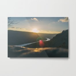 Signal Point Sunset Metal Print