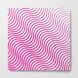 Whiskers Pink #835 Metal Print