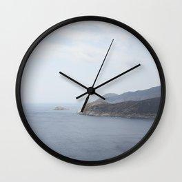 Cap Corse Wall Clock