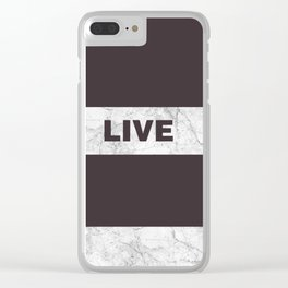Love live laught Clear iPhone Case