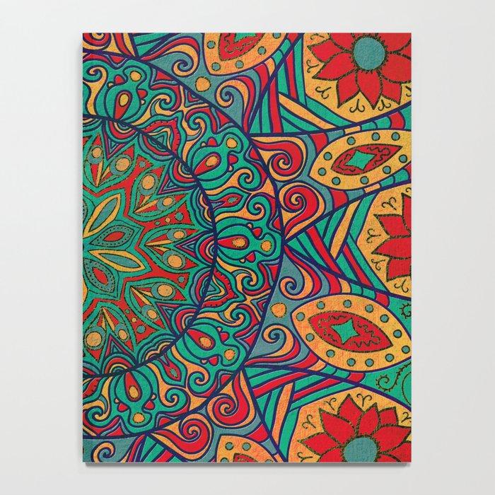 Tribal Mandala Notebook