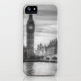 Westminster Bridge and Big Ben iPhone Case