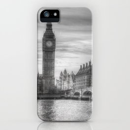 Westminster Bridge and Big Ben iPhone Case