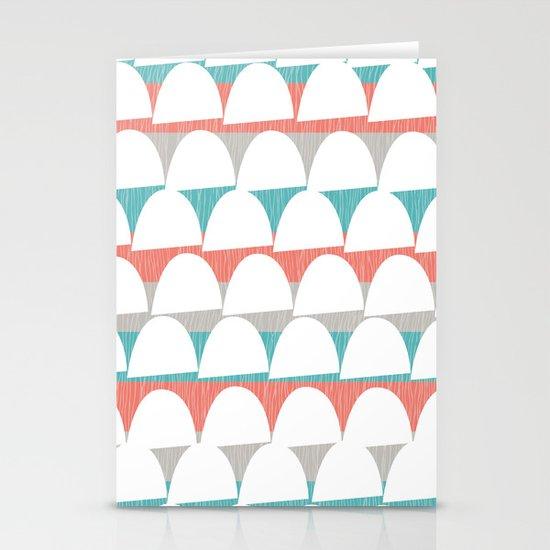 Shroom stripes Stationery Cards