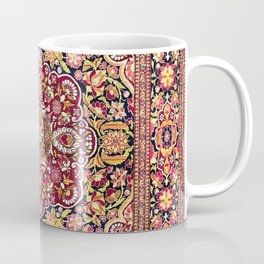 Esfahan Antique Floral Persian Rug Coffee Mug