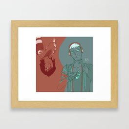 Dragon Boys  Framed Art Print