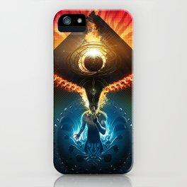 Lucid Synchronized Dimensionalism iPhone Case