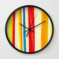 martini Wall Clocks featuring Martini by Arwan Mauriattama