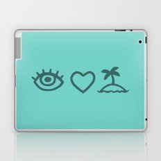 Eye Love Paradise Laptop & iPad Skin