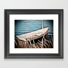 Without a Paddle Framed Art Print