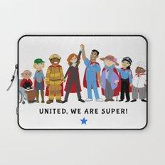 United, We Are Super! Laptop Sleeve