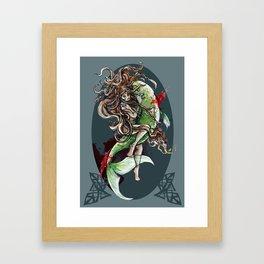 Christmas in Blood: PF 2013 Framed Art Print