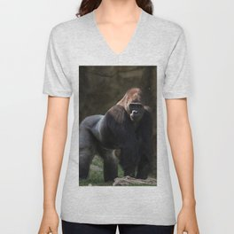 Gorilla Chief Unisex V-Neck