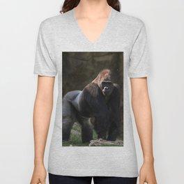Gorilla Chief Unisex V-Neck