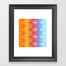 SXYellow Framed Art Print