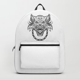 Norse Wolf Monster Fenrir Backpack