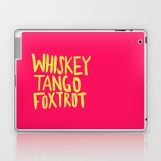 Whiskey Tango Foxtrot - Color Edition Laptop & iPad Skin