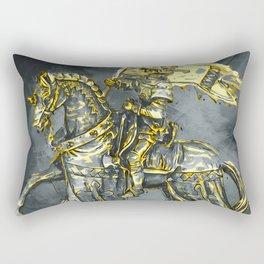 Medieval Knight Rectangular Pillow