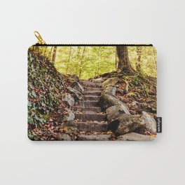 Rock Stairway Cades Cove Tennessee by Alli Gunter Photography Carry-All Pouch