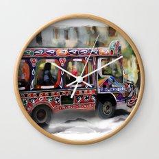 The Magic Bus Wall Clock