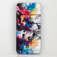 la iPhone & iPod Skins featuring la nostra infinita abnegazione  by agnes-cecile