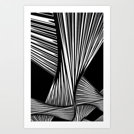 Dissolved tissue Art Print