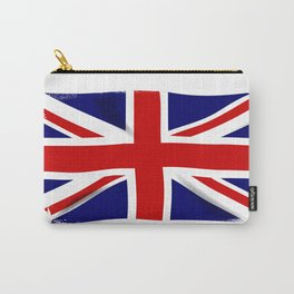 Union Jack Grunge Carry-All Pouch
