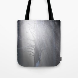 Sunrise in the Trump Forets. Tote Bag