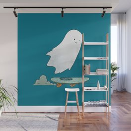 The Ghost Skater Wall Mural