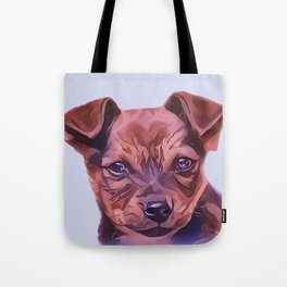 The Airedale Terrier Puppy Tote Bag