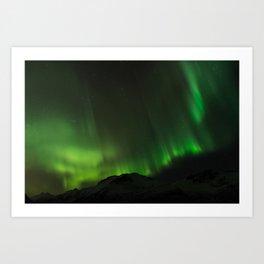 Northern Lights in Norway 03 Art Print