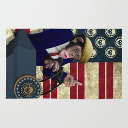 PRESIDENT of THE APES iPhone 4 4s 5 5c 6 7, pillow case, mugs and tshirt Rug