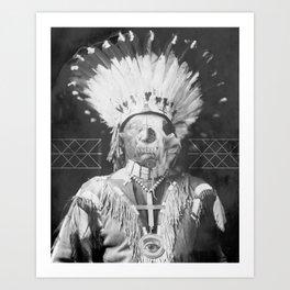 Native Cell Art Print