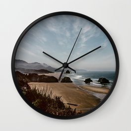 Crescent Beach Oregon Wall Clock