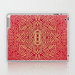 Radiate (Red Yellow Ochre non-metallic) Laptop & iPad Skin