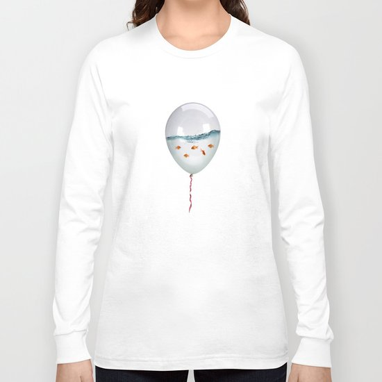BALLOON FISH-2 Long Sleeve T-shirt
