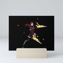Lila Scarlett II Mini Art Print