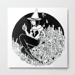 Poisonous Metal Print