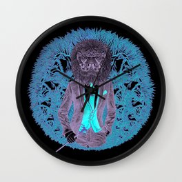 """""""Lions Feed on Inferior Breeds,"""" 2017 Wall Clock"""